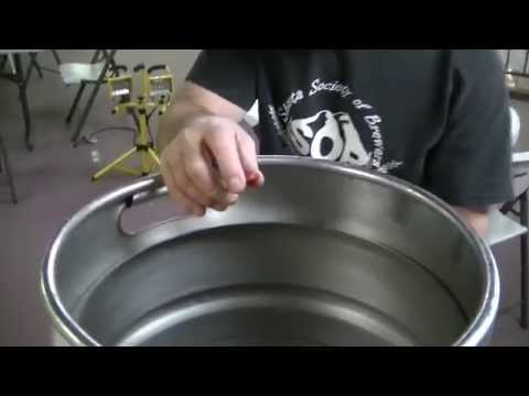 How to attach a ball valve to a keg... with no welding