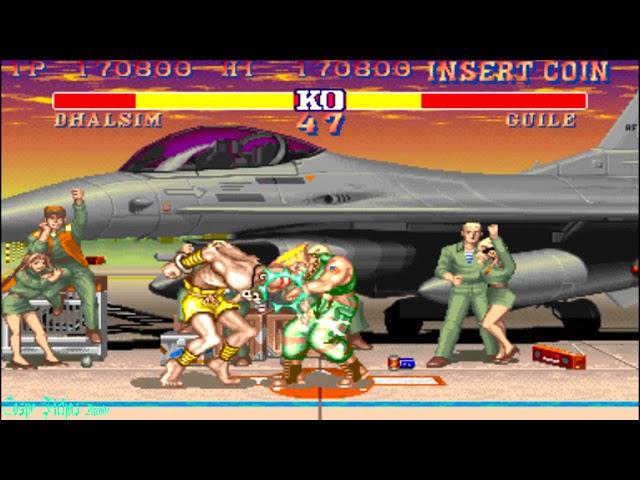 Street Fighter 2: Champion Edition - Dhalsim (Arcade) Hardest