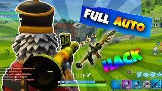 FULL AUTO RPG HACK!!! | FORTNITE BATTLE ROYALE