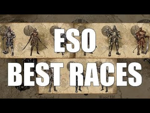 Eso Best Class 2020.Eso Best Race What Race To Play In Elder Scrolls Online 2019