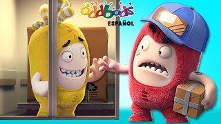Repartidor de Paquetería - Oddbods | Caricaturas Graciosas para Niños