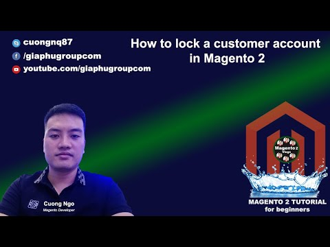 How to lock a customer account in Magento 2