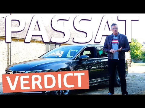 2019 Volkswagen Passat Estate Review   Spot the difference!