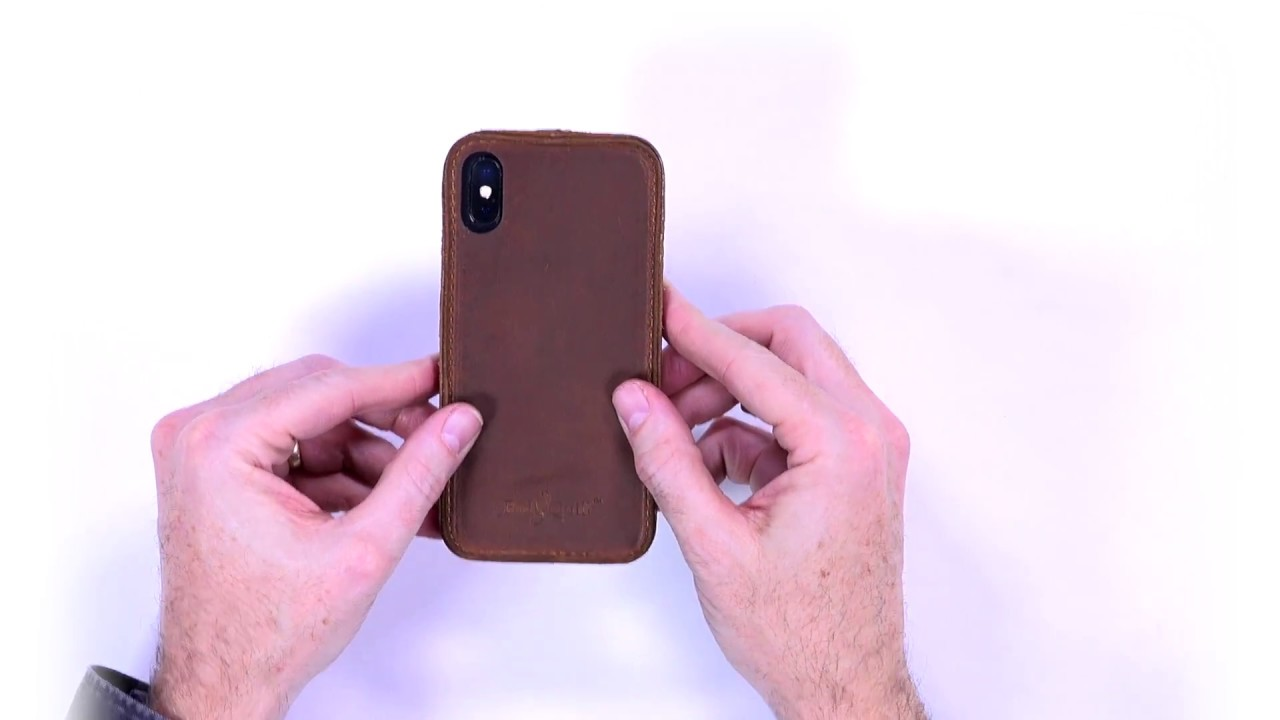release date: 0a21f 64186 Quick Look at the Traveler Leather Case for iPhone X by Pad & Quill