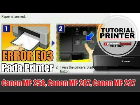 Error E03 Pada Printer Canon Mp287 Error E03 Pada Printer Canon