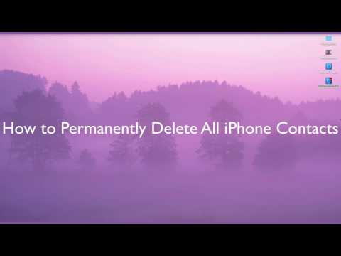 How to Delete Contact from iPhone 8.