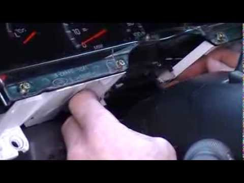 2000 Ford F150 Instrument Gauge Cluster Removal Procedure by Cluster
