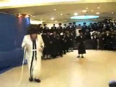 Pittsburger Rebbe Mitzvah Tantz