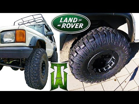 Trail Worthy Fab Beadlocks & Interco TrXusMT - Discovery 2, Land Rover