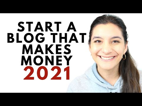 Tips for Starting a Blog in 2021 That Actually Makes Money