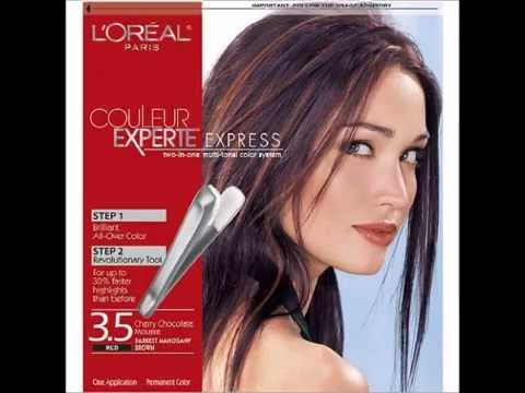L Oreal Paris Couleur Experte Express Easy 2 In 1 Color Highlights Darkest Mahogany