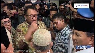 VIDEO: Titipkan Makanan Sahur untuk Eggi Sudjana, Prabowo: Yang Benar Pasti Menang - JPNN.COM