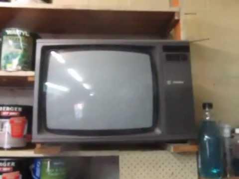 Vintage GoldStar television