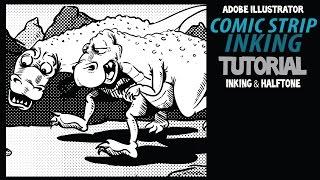 Wie Tinte, die Comic-Strips in Adobe Illustrator