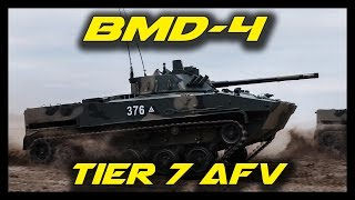 Armored Warfare BMD-4 Gameplay - Tier 7 Russian AFV Armored Fighting Vehicle - BMD-4 Preview