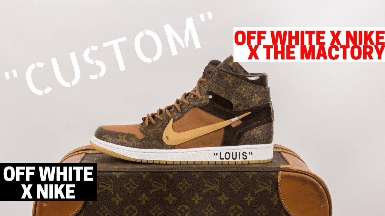 finest selection f1dc6 519b3 🔥 4,000 Sneakers 🔥  Louis Vuitton X OFF WHITE X Jordan  By Ceeze