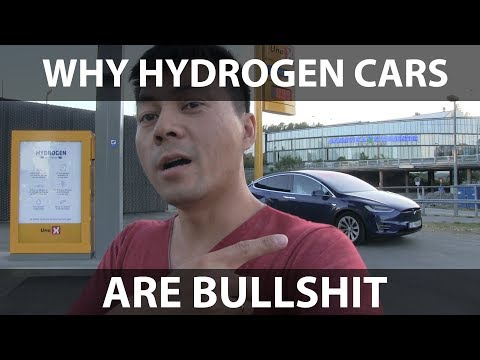 Why hydrogen cars are bullshit