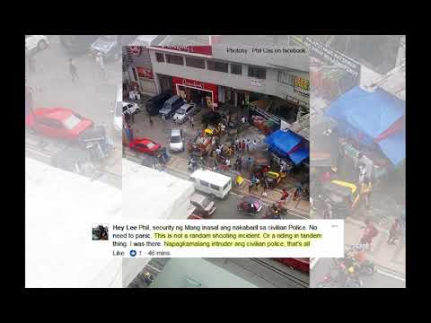 Pulis Nabaril sa Tapat ng Mall sa Imus Cavite