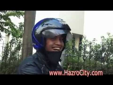 Roads views of Depok, Jakarta, Indonesia