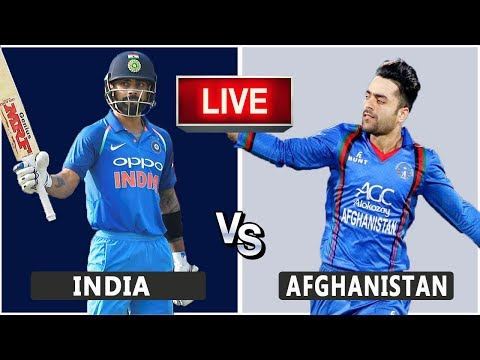 India VS Afghanistan Live Match | CWC19 | IND VS AFG | Live Score And Reaction