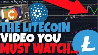 THE ONLY LITECOIN VIDEO YOU MUST WATCH ASAP (Cardano Analysis)