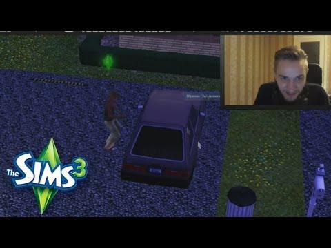 Великая кража машин в Sims 3!
