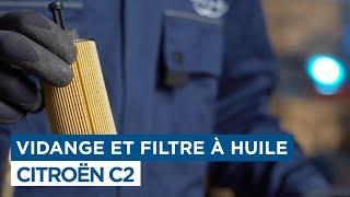 Faire la vidange - Citroën C2