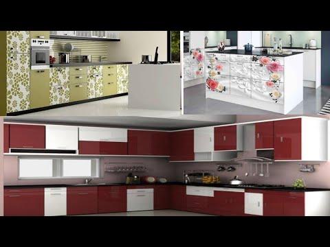 best sunmica modular kitchen designs 2020 - YouTube
