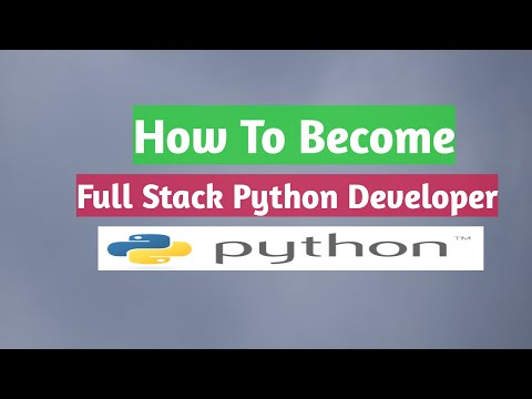 How to become full stack python developer