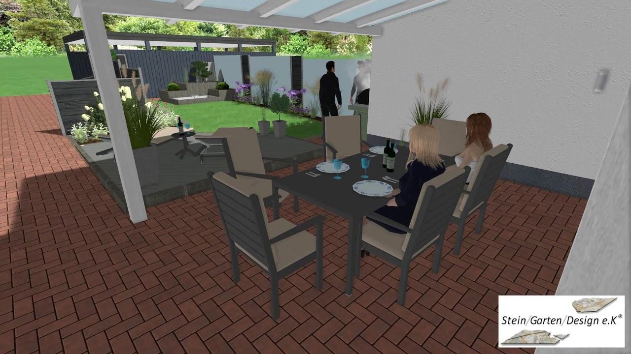 Stein Garten Design 3d Simulation