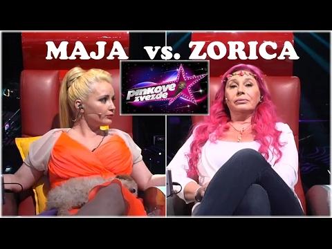 Maja Nikolic vs. Zorica Brunclik - 'Ovo nije parlament, ovo je zabavni sou-program' - Pinkove zvezde