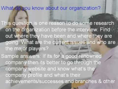 Good Administrative Officer Interview Questions   YouTube