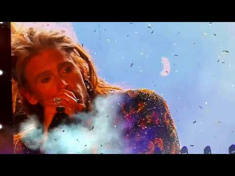 Dream on, Mother Popcorn, Walk this way  Aerosmith,  from Download 2017