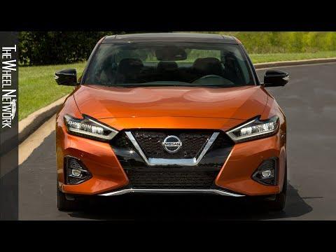 2020-nissan-maxima-sr-|-sunset-drift-chromaflair-|-driving,-interior,-exterior