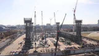 【東京2020大会】オリンピックアクアティクスセンター タイムラプス映像