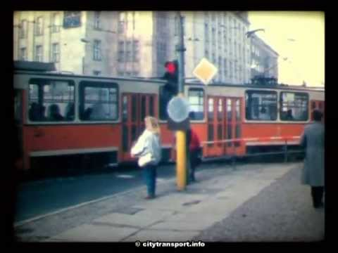 Berlin 1989 - Trams & Trains