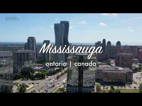 [4K] MISSISSAUGA   ONTARIO   CANADA