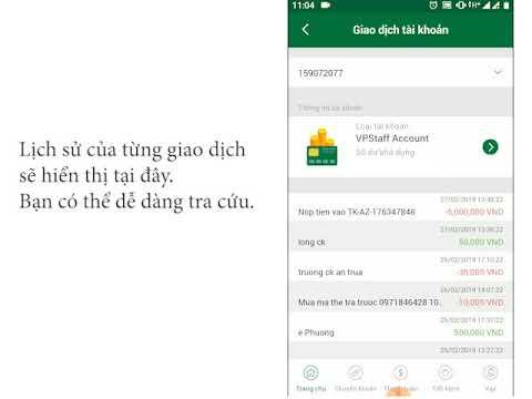 Hướng Dẫn Kiểm Tra Lịch Sử Giao Dịch Trên ứng Dụng VPBank Online