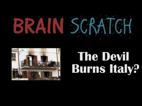 BrainScratch: The Devil Burns Italy?  Canneto di Caronia Fires