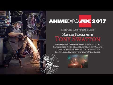 Tony Swatton Coming to Anime Expo 2017