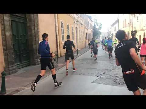 le marathon de saint Tropez