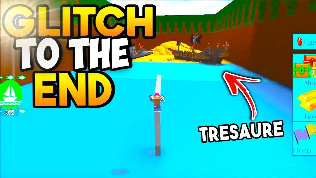 *NEW* GLITCH TO THE END! (Unlimited GOLD) | Build a Boat For Treasure