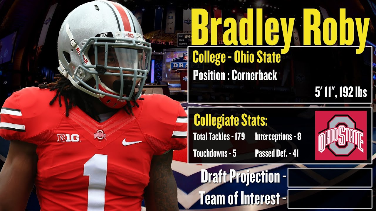 2014 NFL Draft Profile Bradley Roby Strengths and Weaknesses