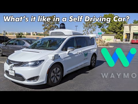 Riding in a Self Driving Car - With Nobody Up Front | JJRicks Rides With Waymo #1