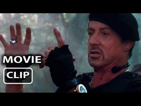 The Expendables 2 Movie Clip