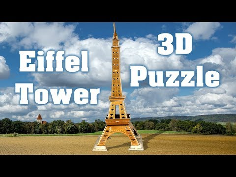 Eiffel Tower 3D Puzzle DIY