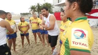 Super Desafio BRA de Beach Rugby 2016
