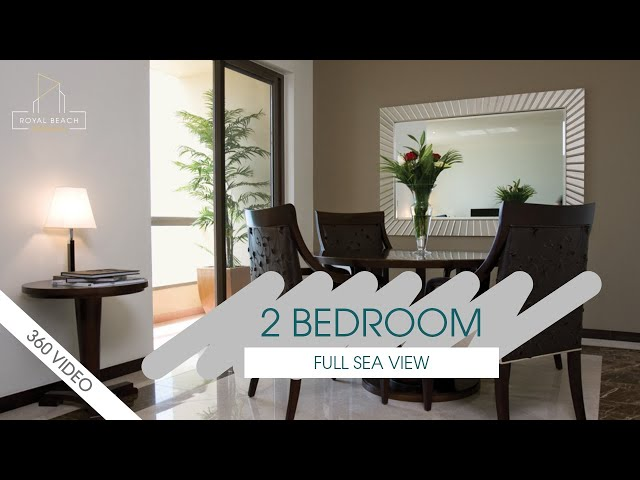 2 Bedroom Apartment - Full Sea View - 3 Months Free