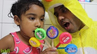 Learn Color with Bubble Tape Ishfi sings Nursery Rhymes