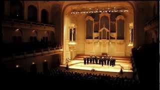 Don Kosaken Chor Serge Jaroff ® / Wanja Hlibka --  Eintönig klingt hell das Glöckchen